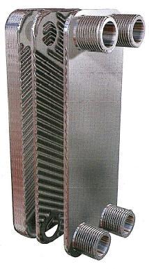 Теплообменники паяные Уплотнения теплообменника Tranter GX-100 P Элиста